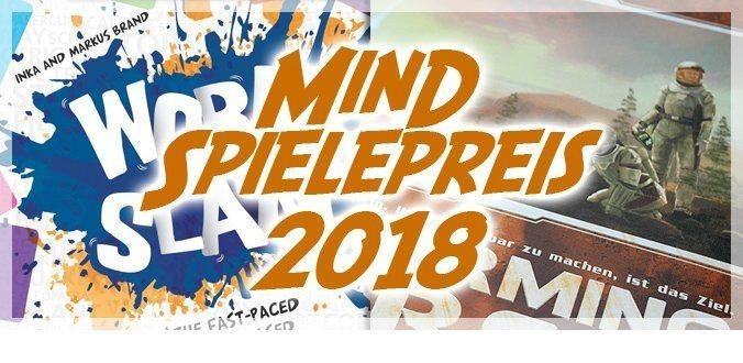 MinD Spielepreis 2018 – Anspruchsvolle Brettspiele