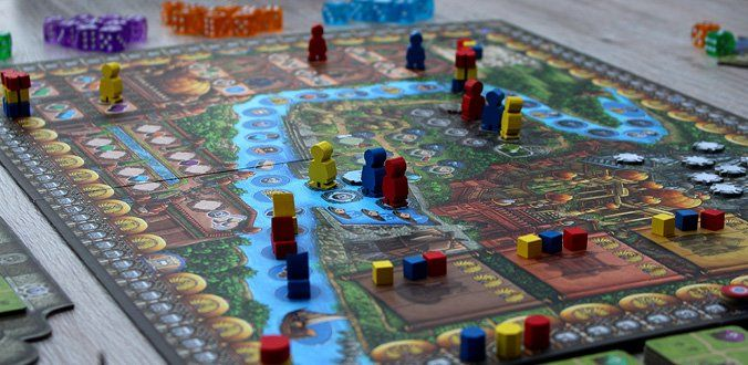 Rajas of the Ganges - Spielbrett