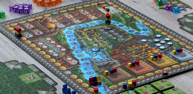 Rajas of the Ganges - Spielmaterial