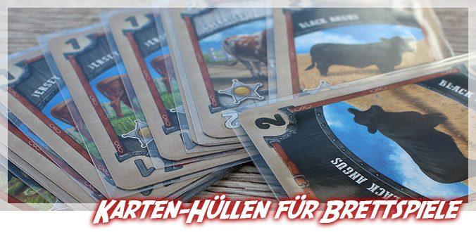 Nutzt ihr Karten-Hüllen als Schutz für Brettspiele?