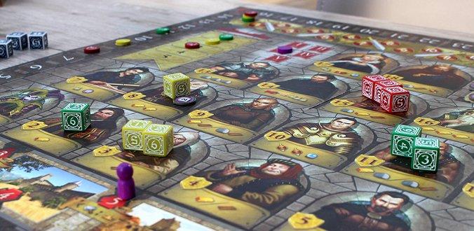 Kingsburg - Das Spielmaterial ist hübsch