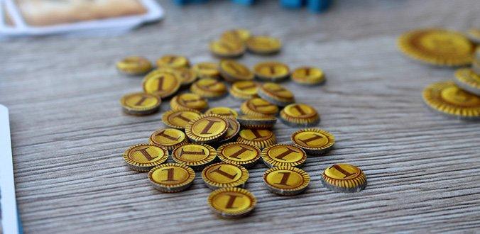 Nusfjord - Die Münzen sind ziemlich klein geraten
