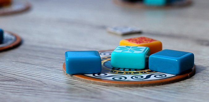 Die Steine gibt es auf den Manufakturplättchen - Azul Review
