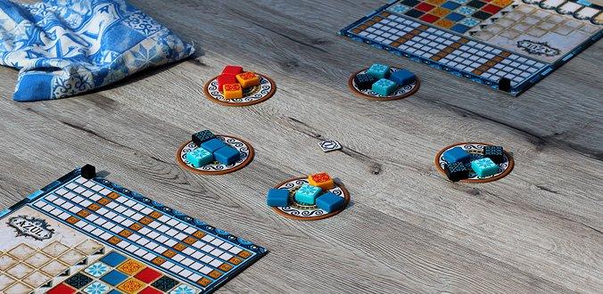 Azul hat nicht viel Spielmaterial, aber das ist toll - Azul Review