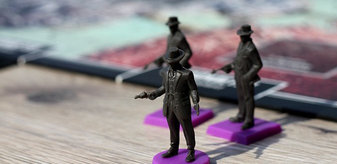 Der Pate - Corleones Imperium - Familienmitglieder und eigene Ganoven als Miniaturen