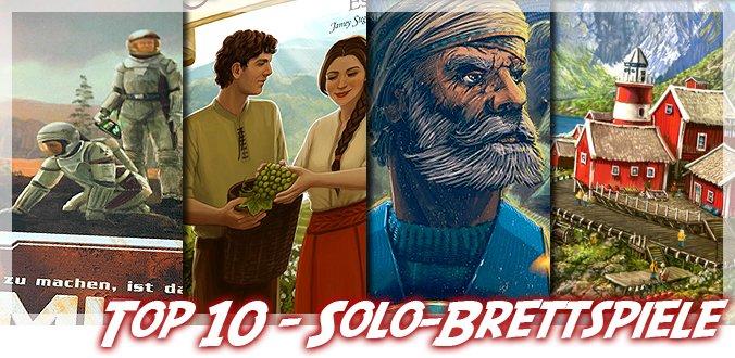 Meine Top 10 Solo-Brettspiele