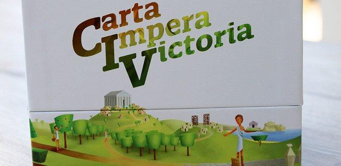 Carta Impera Victoria - Die Box ist schön, aber enthält auch viel Luft.