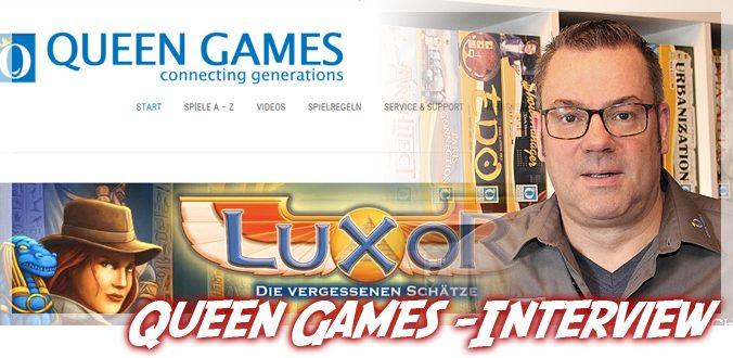 Von Alhambra bis Luxor – Die Geschichte von Queen Games und mehr im Interview