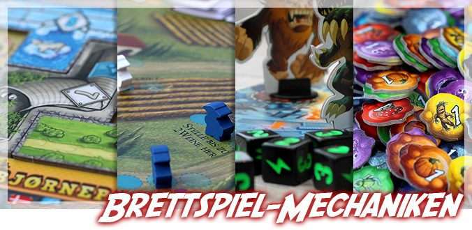 Brettspiel Mechaniken