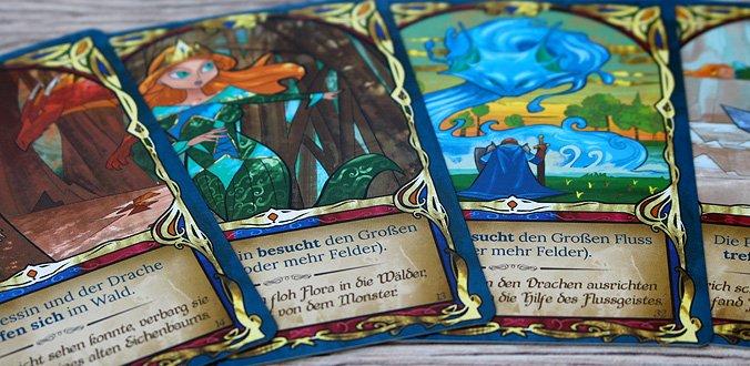Fairy Tile - Die Buchseiten sind schön gestaltet