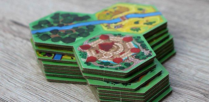 Fairy Tile - Landschaftsplättchen