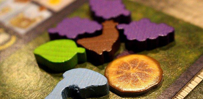 Carpe Diem - Einige Ressourcen aus dem Brettspiel