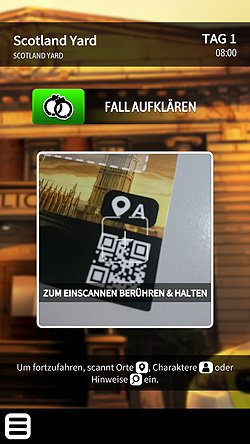Chronicles of Crime - Die App mit dem QR-Code Scanner