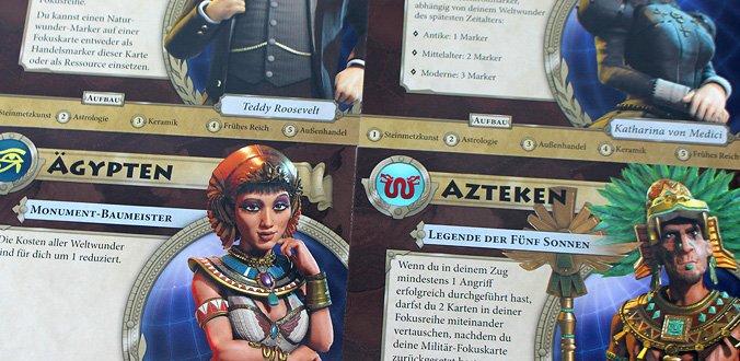 Verschiedene Anführer - Sid Meier's Civilization: Ein neues Zeitalter