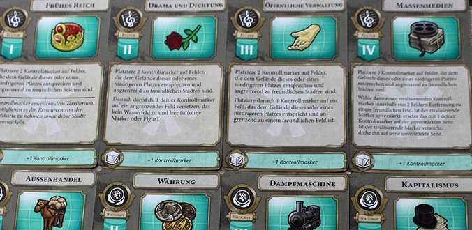 Fokuskarten - Sid Meier's Civilization: Ein neues Zeitalter