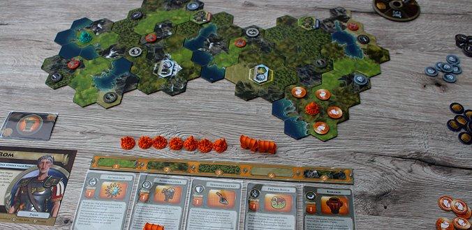 Die modularen Spielplanteile - Sid Meier's Civilization: Ein neues Zeitalter