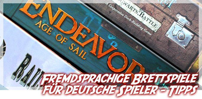 Fremdsprachige Brettspiele für deutsche Spieler - Tipps und Anpassungen