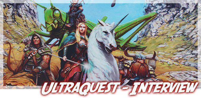 UltraQuest Rollen-Brettspiel
