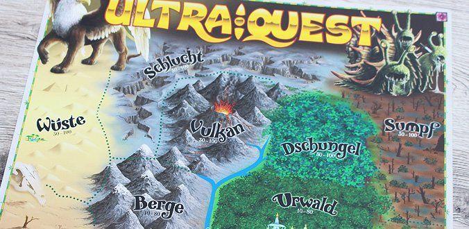 Karte des Königreiches in UltraQuest