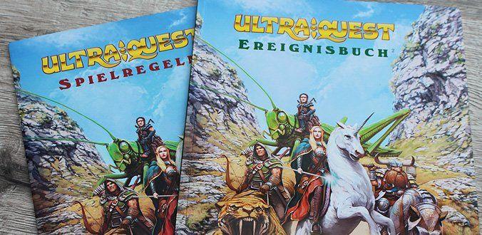 Regeln und Ereignisbuch von UltraQuest