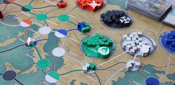 Barbaren-Stämme - Pandemic: Untergang Roms