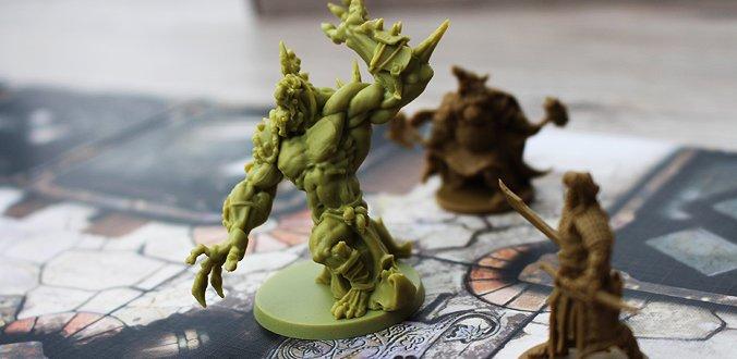 Das Ork-Monstrum von Zombicide: Green Horde