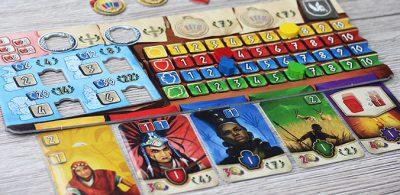 Hadara - Auf dem Spielertableau ist einiges los - Hans im Glück