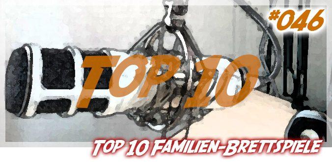 Meine Top 10 Familien-Brettspiele