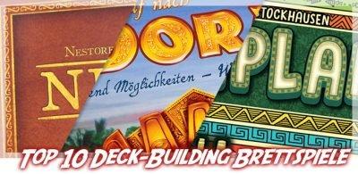 Meine Top 10 Deck-Building und Bag-Building Brettspiele