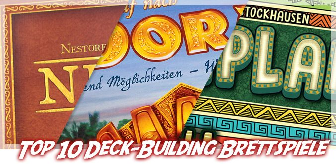 Top 10 Deck-Building und Bag-Building Brettspiele