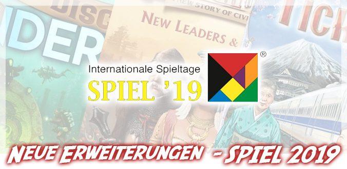 Neue Brettspiel-Erweiterungen zur SPIEL 2019