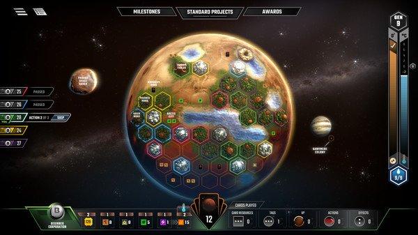 Terraforming Mars auf Steam