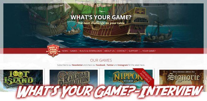 What's Your Game? Von Geschichte und Erfolge bis hin zu Madeira und Zhanguo