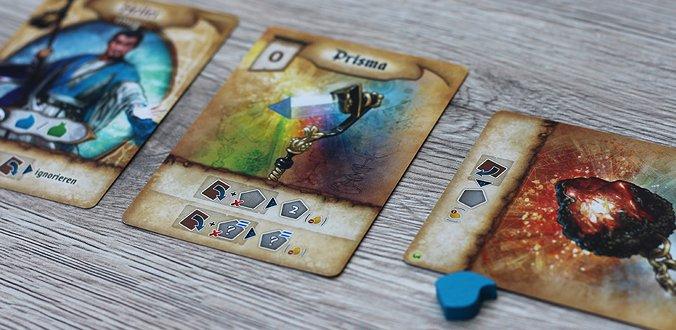 Res Arcana - Die ausgespielten Karten
