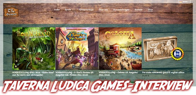 Taverna Ludica-Games - Interview