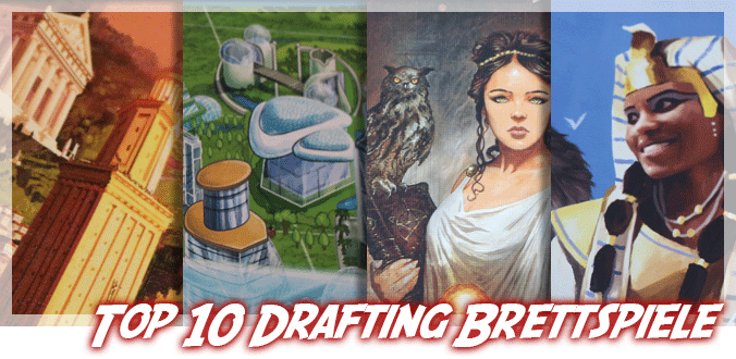 Top 10 Drafting Brettspiele