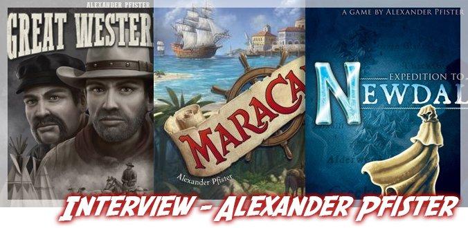 Alexander Pfister im Interview über Ideen, Prototypen, zukünftige Brettspiele und mehr