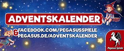 Pegasus Spiele Adventskalender