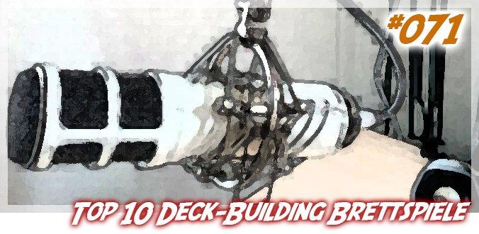 Meine Top 10 Deck-Building Brettspiele – Abenteuer Brettspiele Podcast 71