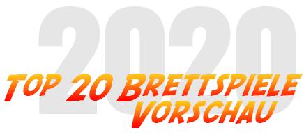 Top 20 Brettspiele 2020