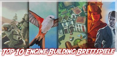 Meine Top 10 Engine Building Brettspiele