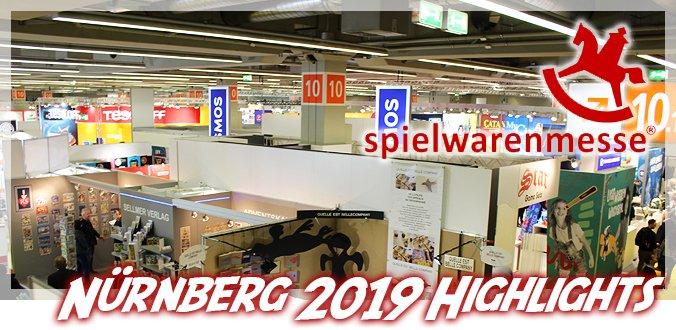 Top 10 Brettspiel-Highlights von der Spielwarenmesse Nürnberg 2020
