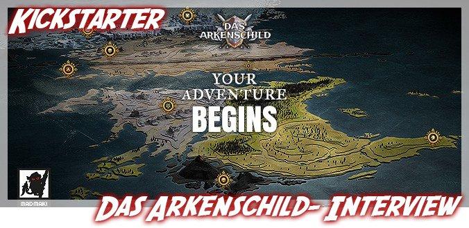Das Arkenschild – Abenteuer und Kämpfe auf Kickstarter – Interview