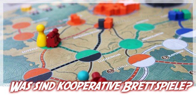 Was sind kooperative Brettspiele?