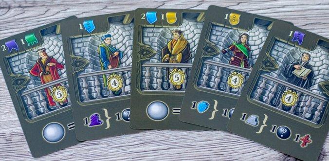 Anführerkarten mit Boni - Masters of Renaissance