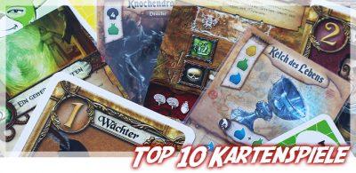 Meine Top 10 Kartenspiele