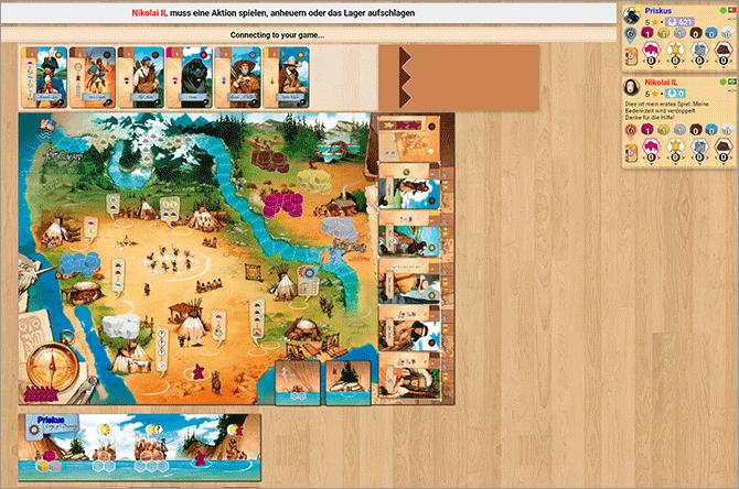 Brettspiele online spielen - Board Game Arena
