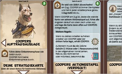 Print and Play Brettspiel - Cooper Island Solo