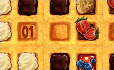 Print and Play Brettspiel - Waffle Hassle