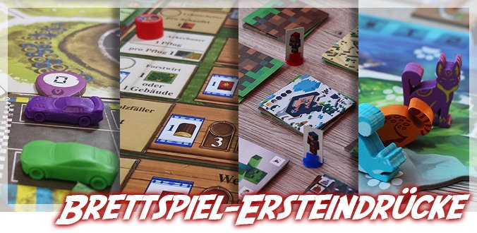 Isle of Cats, Minecraft, Arler Erde und Rallyman GT – Brettspiel-Ersteindrücke